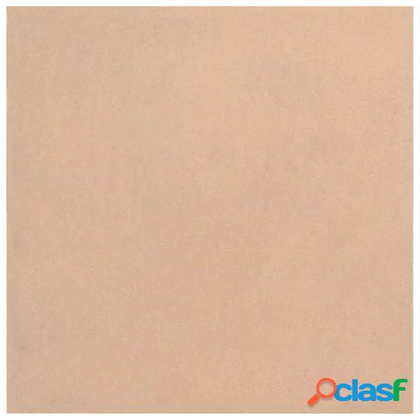vidaXL Placa de MDF 20 pcs quadrado 60x60 cm 2,5 mm 1