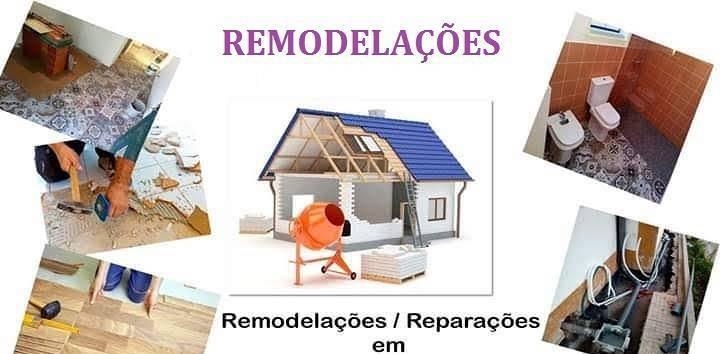 Remodelações em moradias e apartamentos