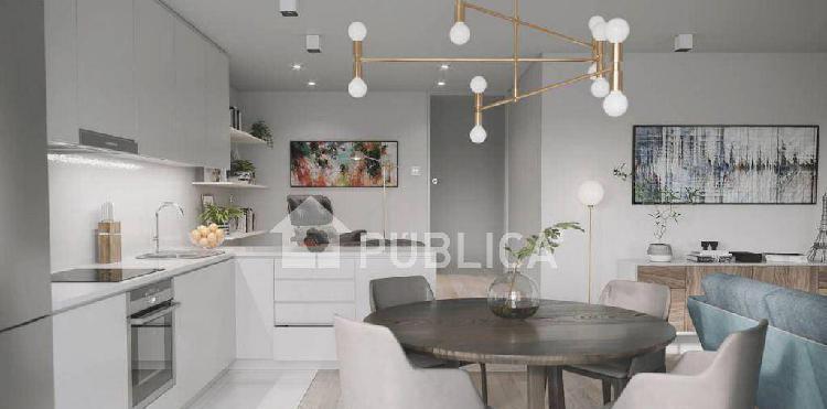 2072] apartamento t2 com terraço novo a 400 mt...