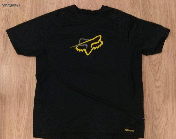 T-shirt / camisola fox tamanho xl (nova)