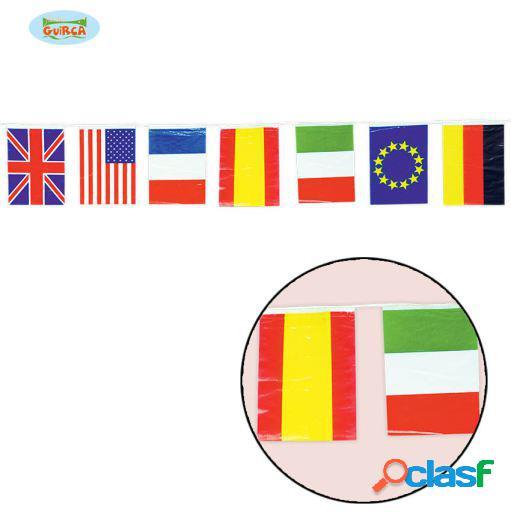 Saco 50 bandeira internacional m. 20 x 30 cm guirca