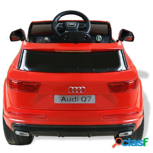 vidaXL Carro de passeio Audi Q7 elétrico 6 V vermelho 2