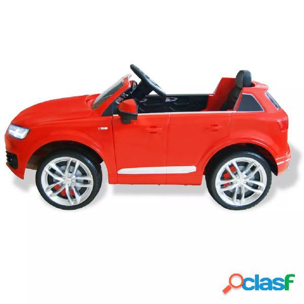 vidaXL Carro de passeio Audi Q7 elétrico 6 V vermelho 3