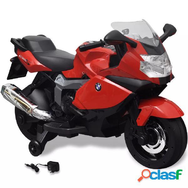 vidaXL Motocicleta eléctrica BMW 283 para crianças- vermelho 6V