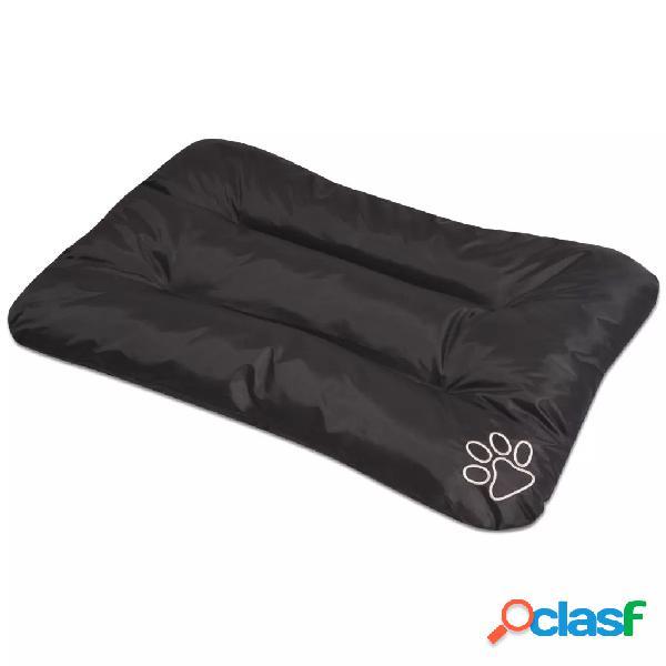 Vidaxl colchão para cães preto tamanho l