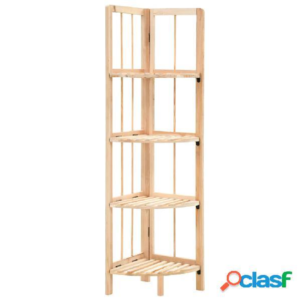 Vidaxl prateleira de canto madeira de cedro 27x27x110 cm