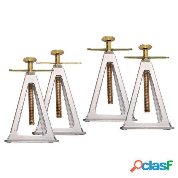 Proplus estabilizador estante, conjunto 4 pçs alumínio 360803