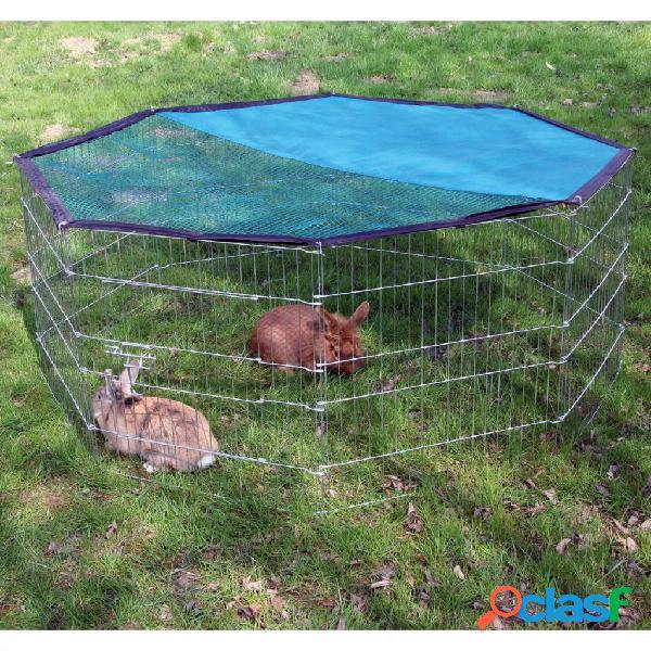 Kerbl recinto p/ animais de estimação ao ar livre octogonal 82708