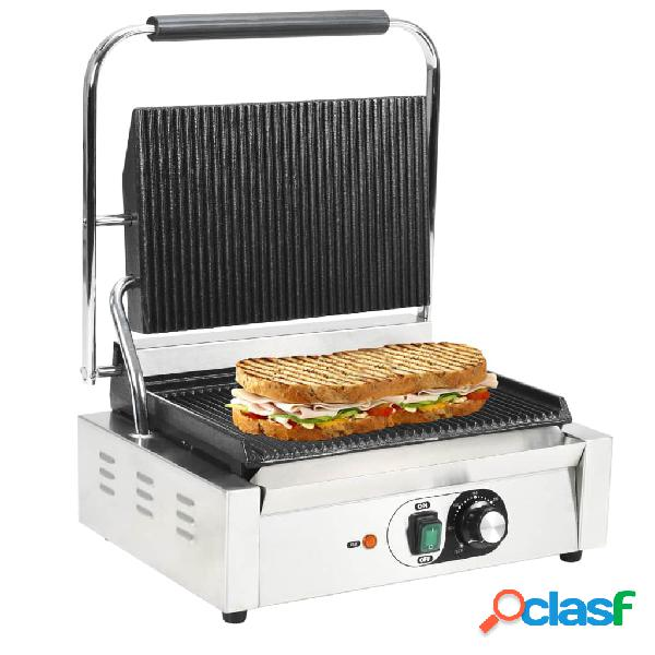 Vidaxl grelhador sanduicheira panini 2200 w 44x41x19 cm