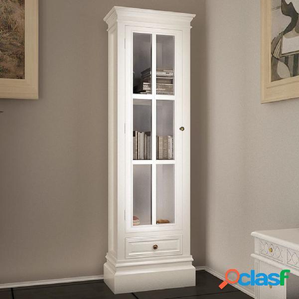 Vidaxl estante com 3 prateleiras elegante madeira branco