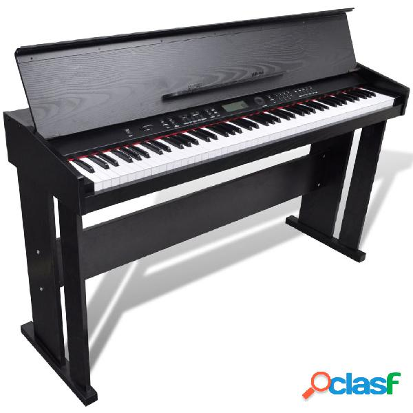 Vidaxl piano digital clássico electrónico com 88 teclas e tripé