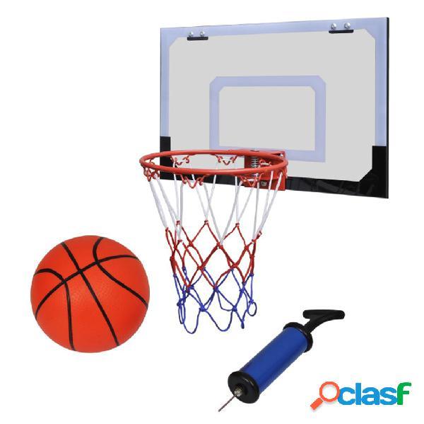 Vidaxl conjunto de mini cesta de basquetebol