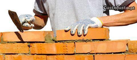 Servicos de construçao civil pinturas reparaçoes