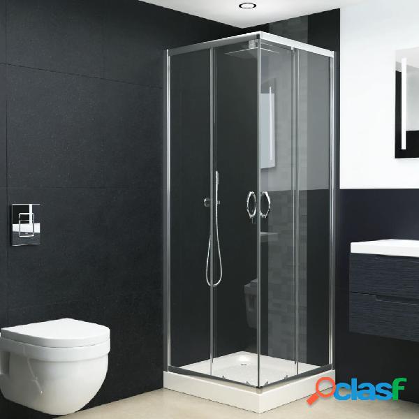 Vidaxl cabine de duche c/ vidro de segurança 70x70x185 cm