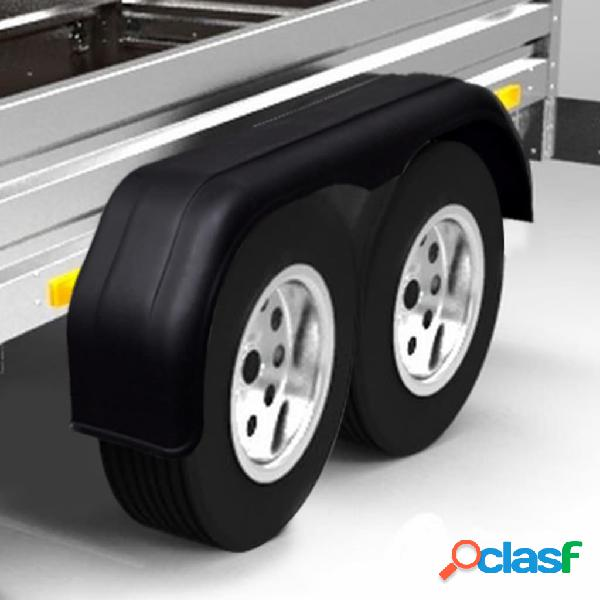 Vidaxl guarda-lamas para rodas de caravana/reboque 2 pcs 240 x 1650 mm