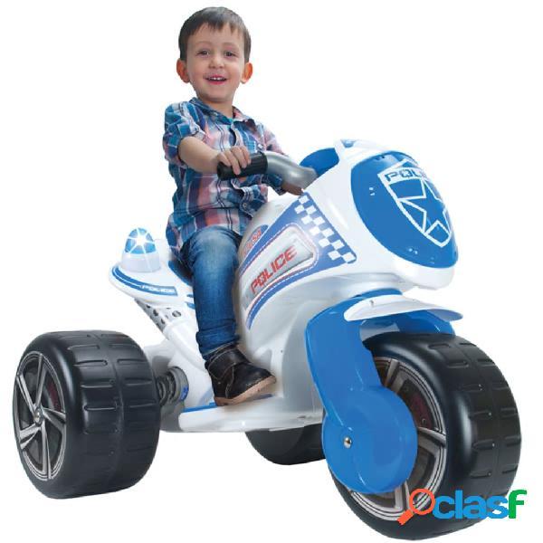 Injusa triciclo elétrico policial 6 v