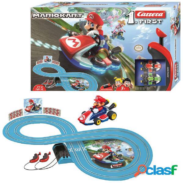 Carrera conjunto de carros e pista mario kart first 1:43 20063014