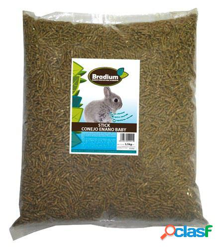 Bradium bebê coelho anão sticks bradium 3'5kg (grande) 3.5 kg