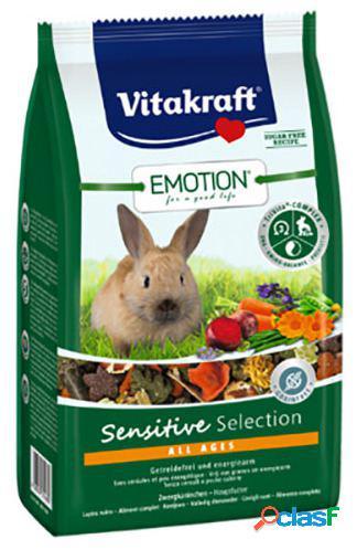 Vitakraft emotion sensitive selection menu coelhos anões 600 gr