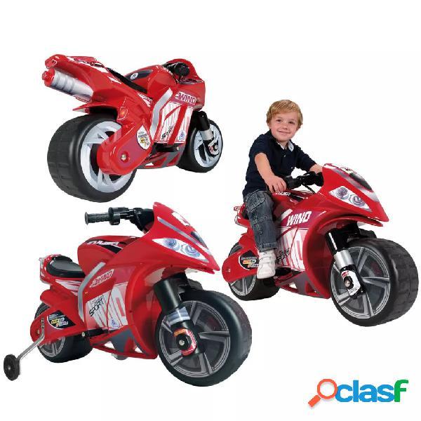 Injusa mini motocicleta elétrica wind 6 v