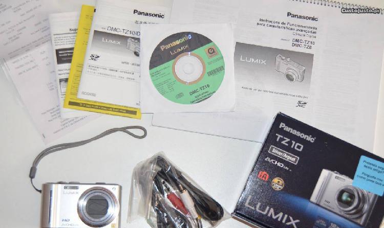 Máquina fotográfica Lumix TZ 10