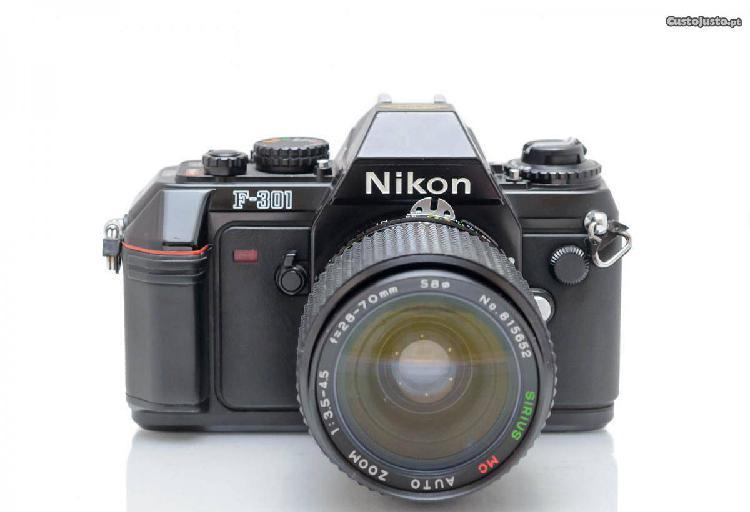 Nikon F-301 + Sirius 28-70mm Macro
