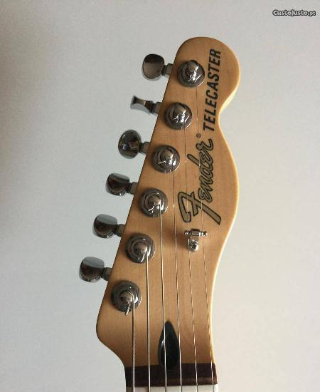 guitarra Fender Deluxe Nashville Telecaster Mexica