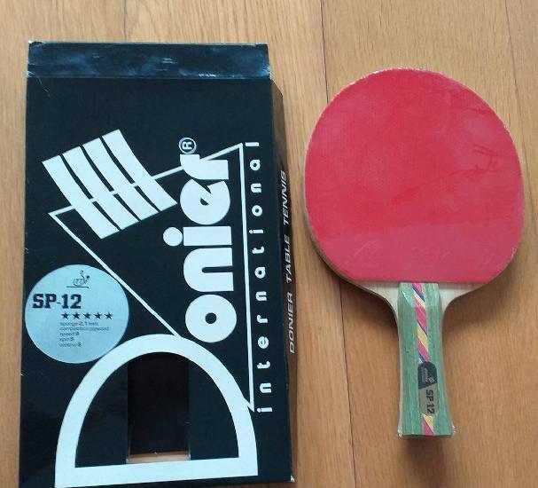 Raquete ping-pong donier sp-12 nova