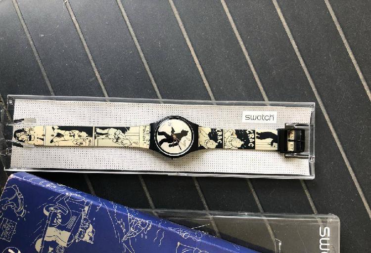 Relógio swatch tintin (75 anos)