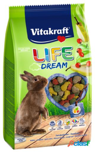 Vitakraft menu life dream granulé pour coelhos 600 gr