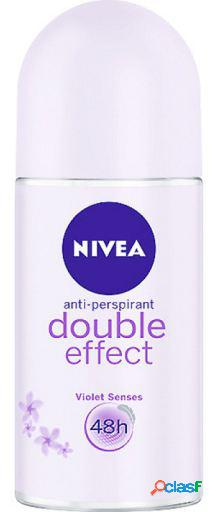 Nivea desodorante roll on duplo efeito 50 ml 50 ml