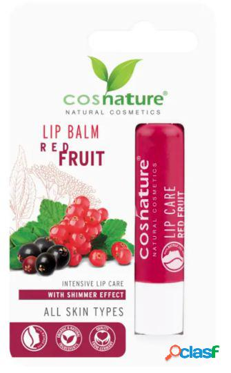 Cosnature Lip Balm Red Fruits Bio 4,8 g