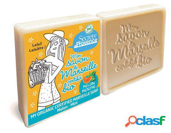 Secrets De Provence Soap Marseille Melon and Mint 2 x 100 gr