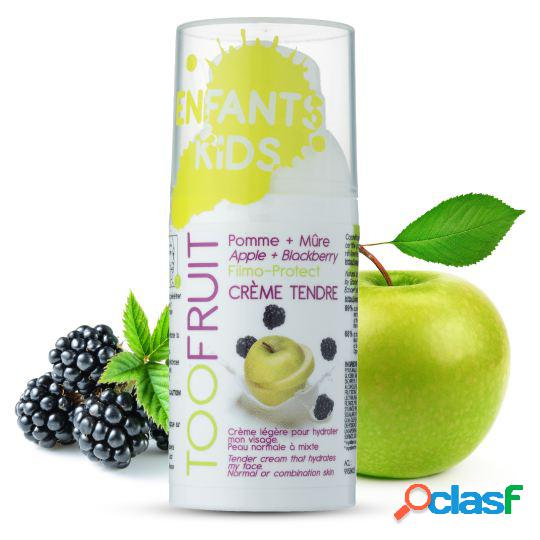 Toofruit Moisturizing Facial Cream with Blackberries and apples 30 ml