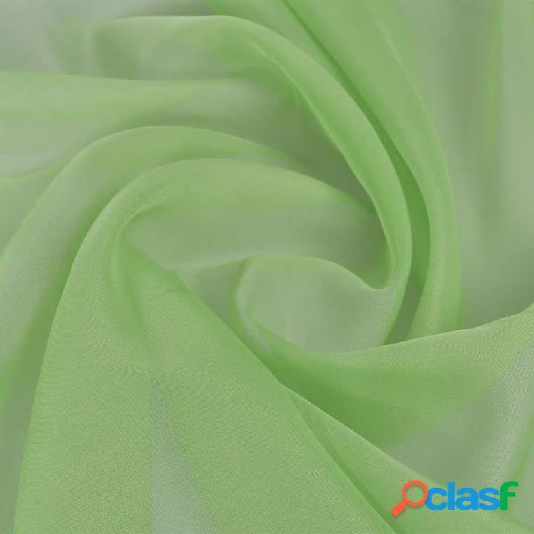 Vidaxl tecido voile 1,45 x 20 m verde