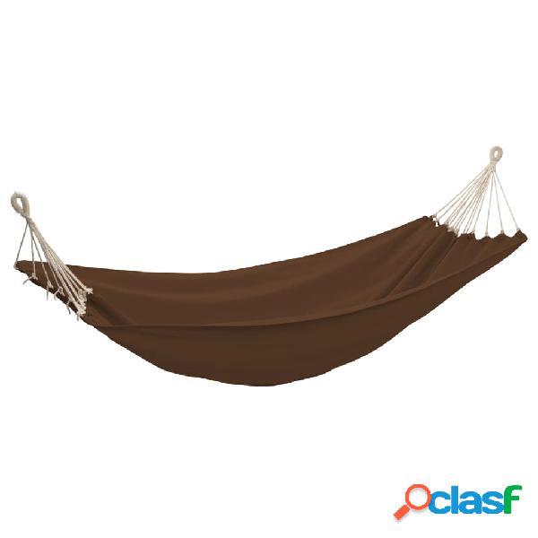 Vidaxl rede de dormir dobrável 2 pessoas 360x150 cm castanho