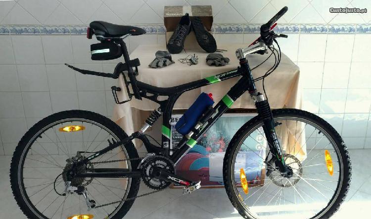 Bicicleta btt gt-xcr 5000 i-drive muito melhorada