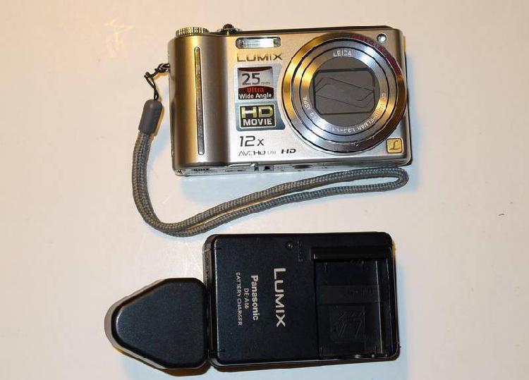 Máquina fotográfica - panasonic lumix dmc-tz7