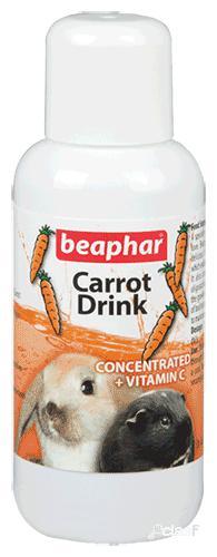 Beaphar suco de cenoura 100 ml 100 ml
