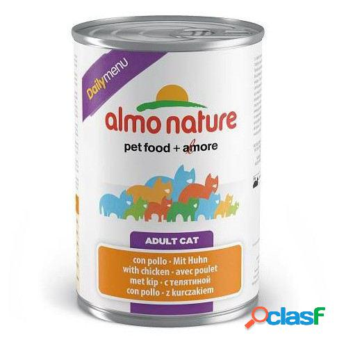 Almo nature daily menu cat frango 400 gr