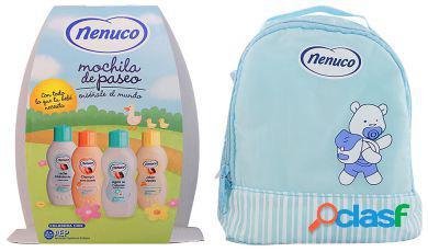 Nenuco pack mochila azul 4 peças
