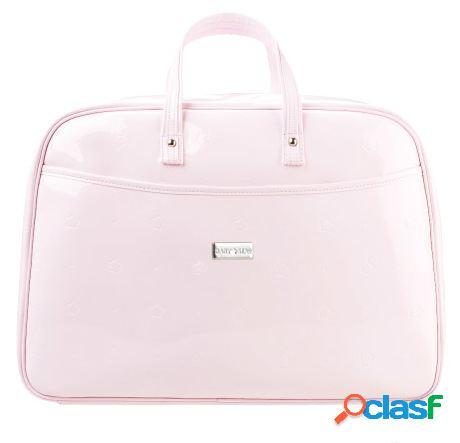 Baby star mala bolsa couro cor de rosa 2.8 kg