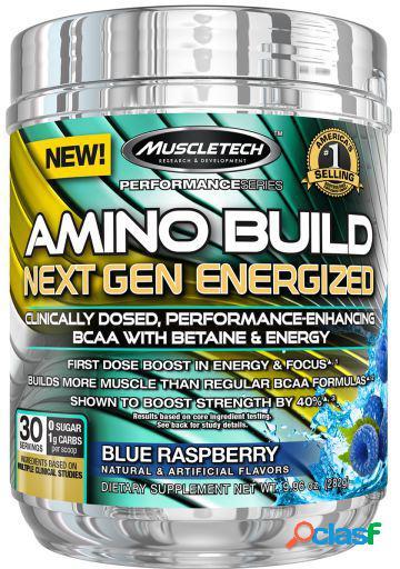Muscletech amino build next gen energized 280 gr concord grape