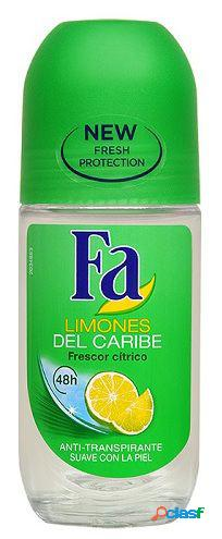 Fa Roll-On Deodorant Caribbean Lemons 50 ml 3x50 ml
