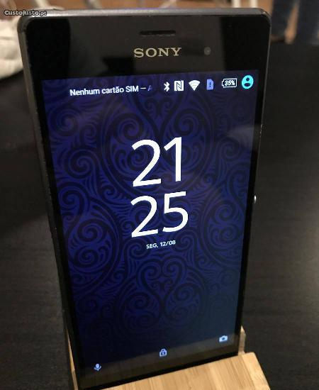 Sony xperia z3 dual d6633 - modelo pouco comum