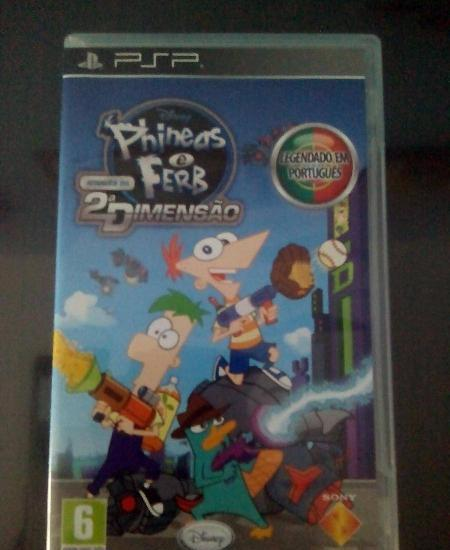 Phineas e Ferb para PSP