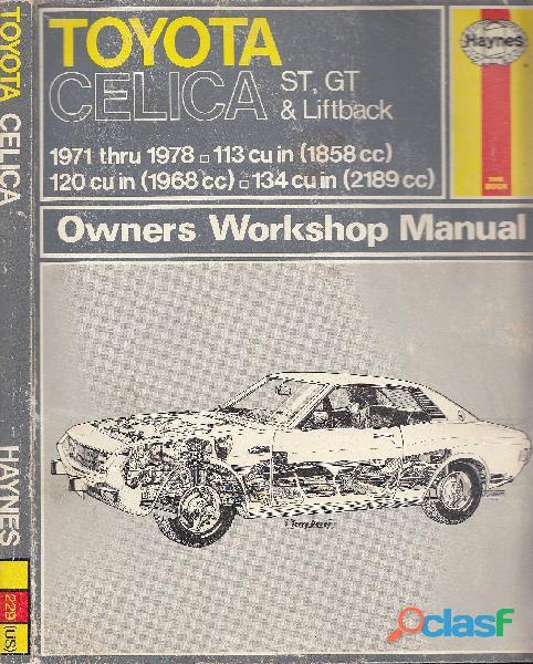 Haynes Toyota Celica