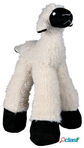 Trixie ovelha com pernas longas, em brinquedos macios