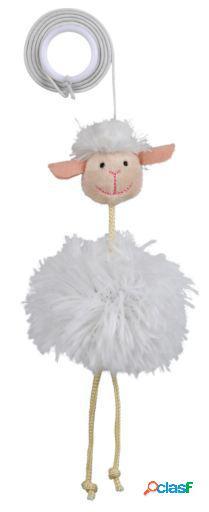 Trixie ovelha com elástico de pelúcia 20 cm
