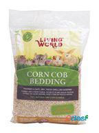 Living world leito de milho natural corn cobs 10 l